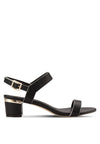 Strappy Block Heeled Sandal