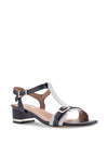 T-Bar Chunky Heeled Sandal