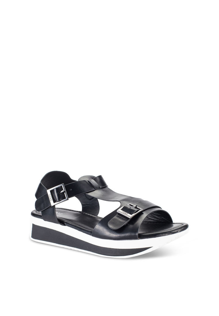 Casual T-Bar Wedge Sandal