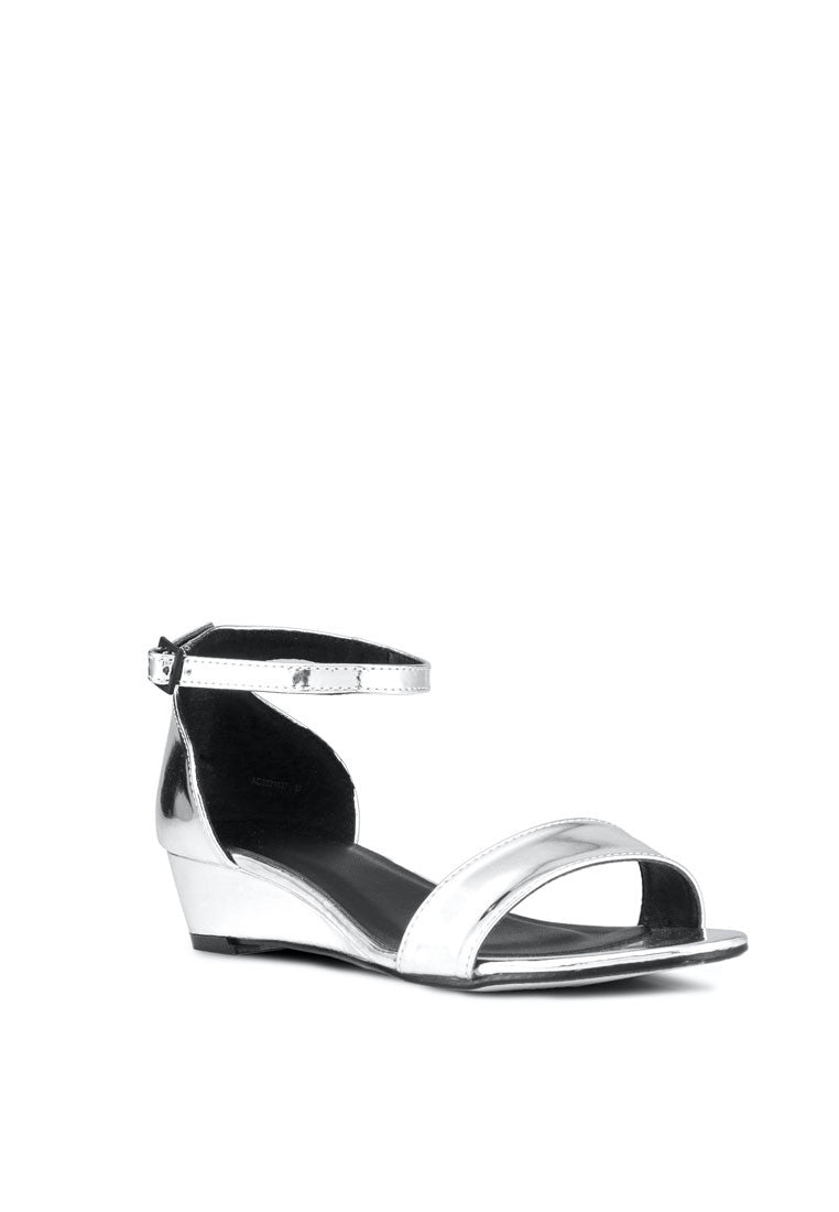Chrome Wedge Sandal - nose intl