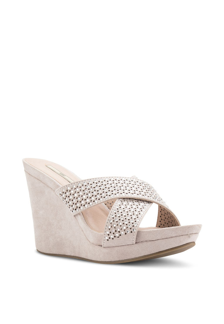 Diamante Wedge Slide