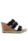 Espadrille Wedge Slide