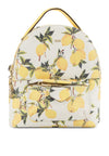 Lemon Print Backpack