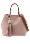 Casual Duo Tone Crossbody Bag - nose intl