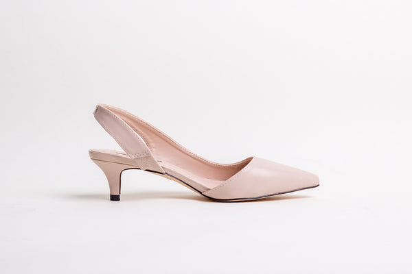 Pointed Toe Sling Back Pump