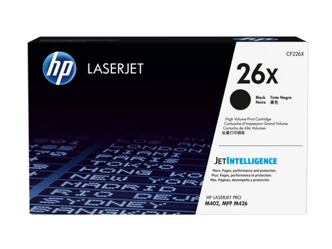 HP TONER 26X BLACK ORIGINAL - CF226X