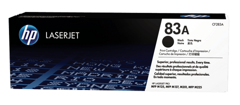 HP TONER 83A BLACK ORIGINAL - CF283A