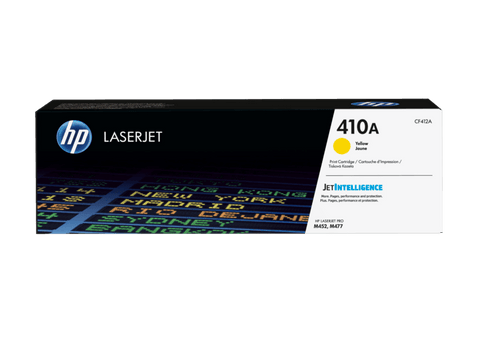 HP TONER 410A YELLOW ORIGINAL - CF412A