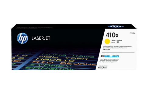 HP TONER 410X YELLOW ORIGINAL - CF412X