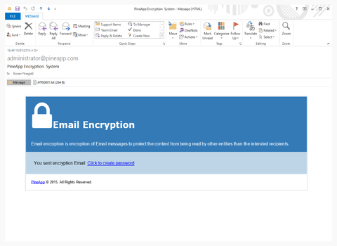 CYBONET MAIL SECURE EMAIL ENCRYPTION FEATURE FOR THE CLOUD – CL-ENCRYPTION-250 - Zeshop
