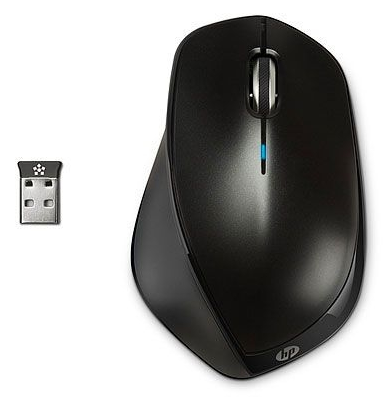 Mouse HP X4500 WIRELESS MEBLACK MOUSE - H2W26AA