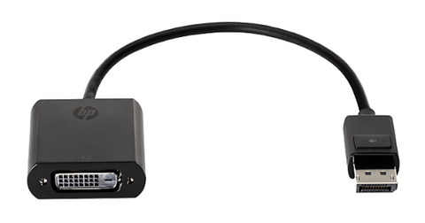 PRILAGOJEVALNIK HP DISPLAY PORT TO DVI SINGLE LINK ADAPTER – F7W96AA