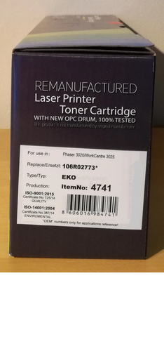 XEROX TONER 106R02773 BLACK COMPATIBLE - 4741
