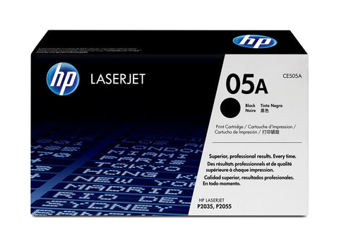 HP TONER 05A BLACK ORIGINAL - CE505A