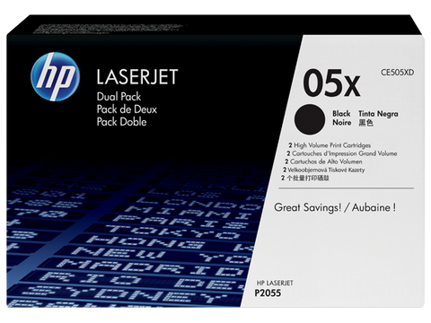 HP TONER 05X BLACK ORIGINAL – CE505X