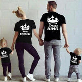 T-SHIRT I'M HER KING BACK