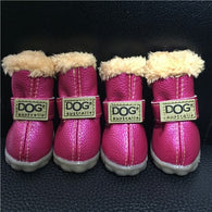 Shoes - Super Warm Small Waterproof Dog Shoes