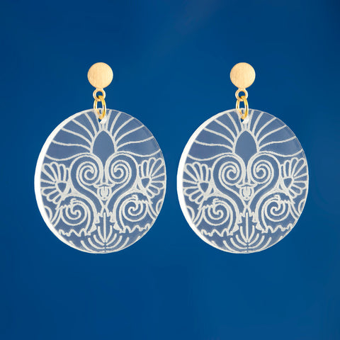 Plexi Corinthian Earrings
