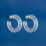 Plexi Hoop Earrings