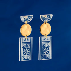 Plexi Statement Earrings
