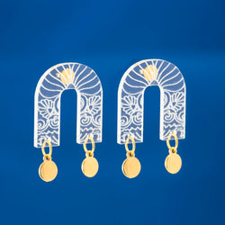 Plexi Arch Earrings