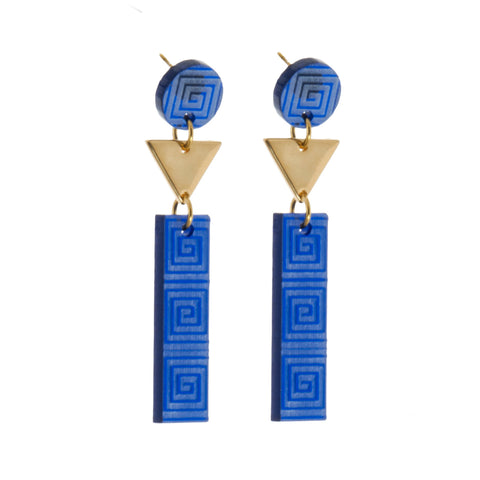 Plexi Geometric Earrings