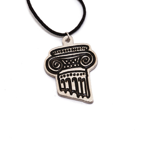 Greek Column Necklace