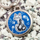 Stray Cat Keychain