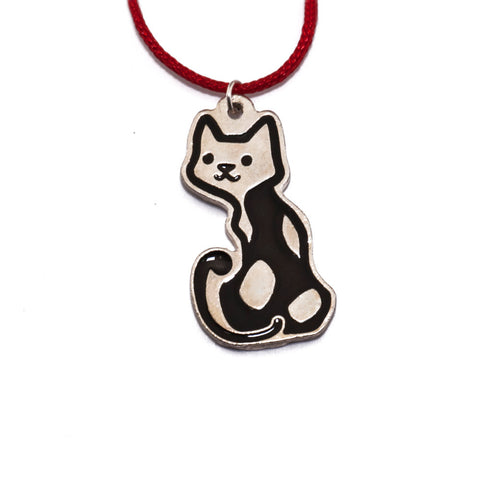 Greek Cat Necklace