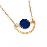 Circle & Oval Necklace