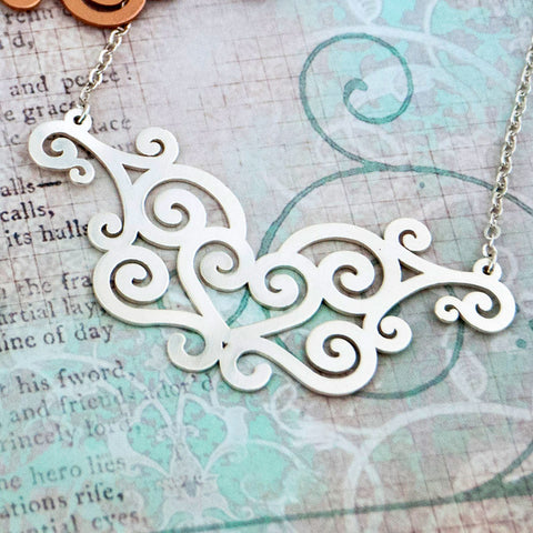 Hearts Ironwork Necklace