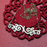 Small Ironwork Necklace