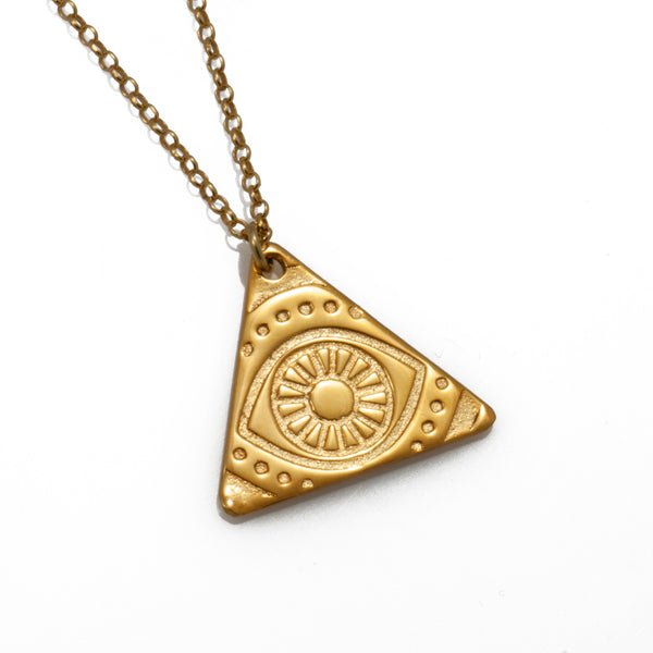 Small Triangle Necklace