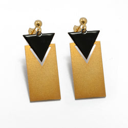 Triangle & Rectangular Earrings