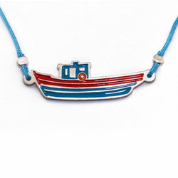Zante Boat Necklace