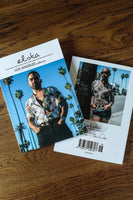 Jose A (cover) and Grey Cotton (back cover), inside Elska Magazine Los Angeles, an intimate look at the real gay LA.