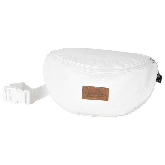 Frei White Fanny Pack