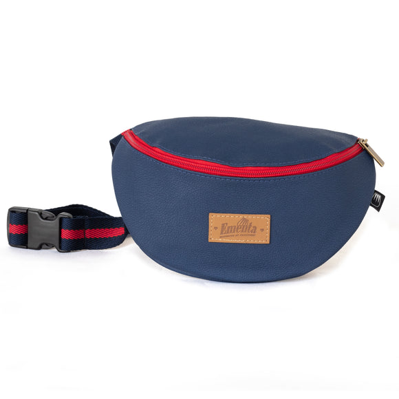 Frei Navy / Red Fanny Pack