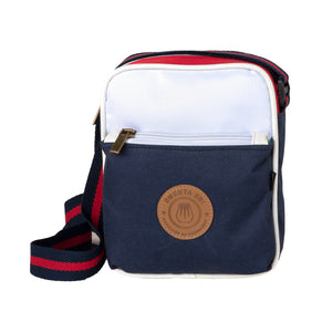 Square Bag Navy / Red / White