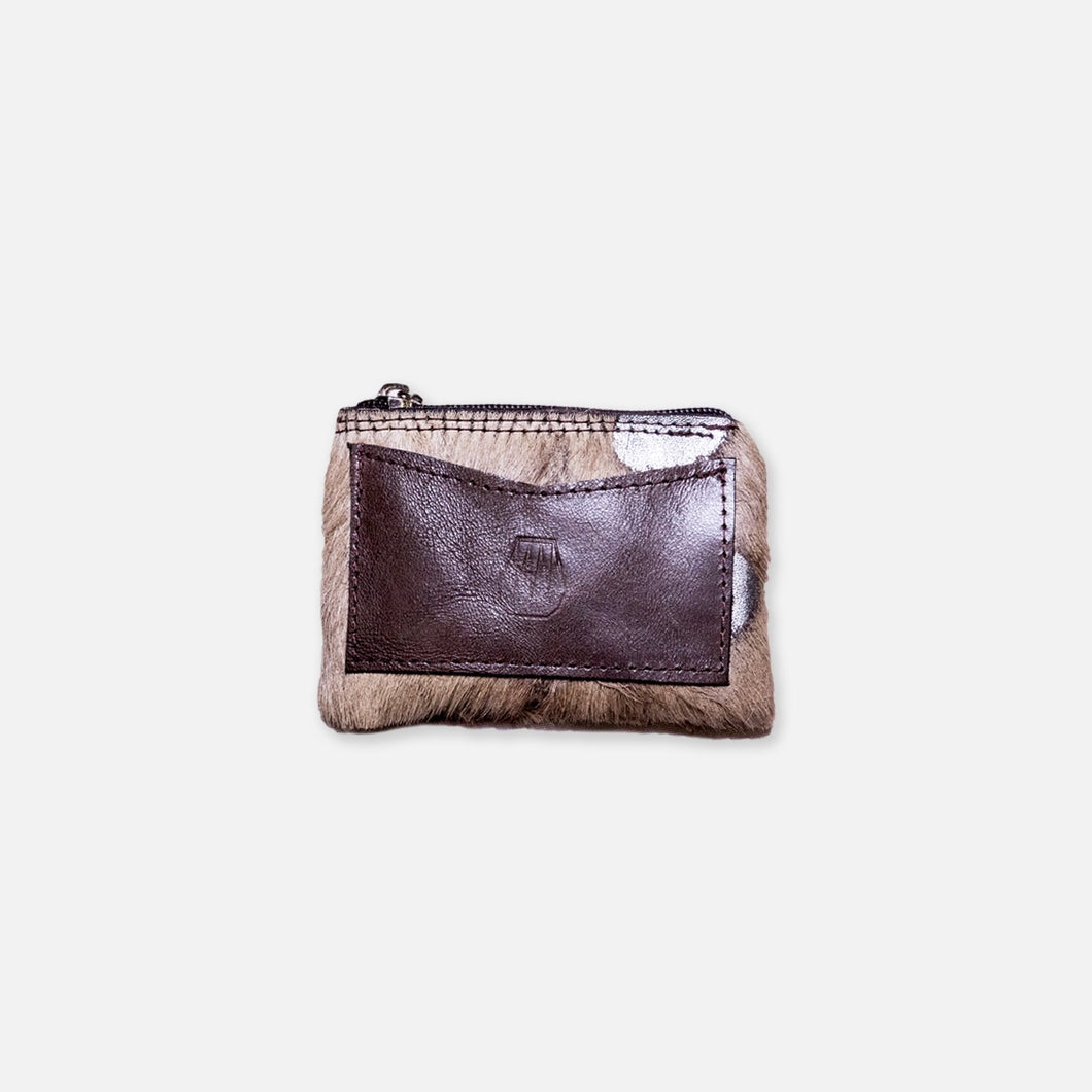 Oxon Cow Grey Wallet