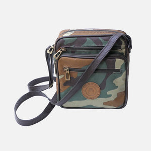 Square Bag Camo Canvas