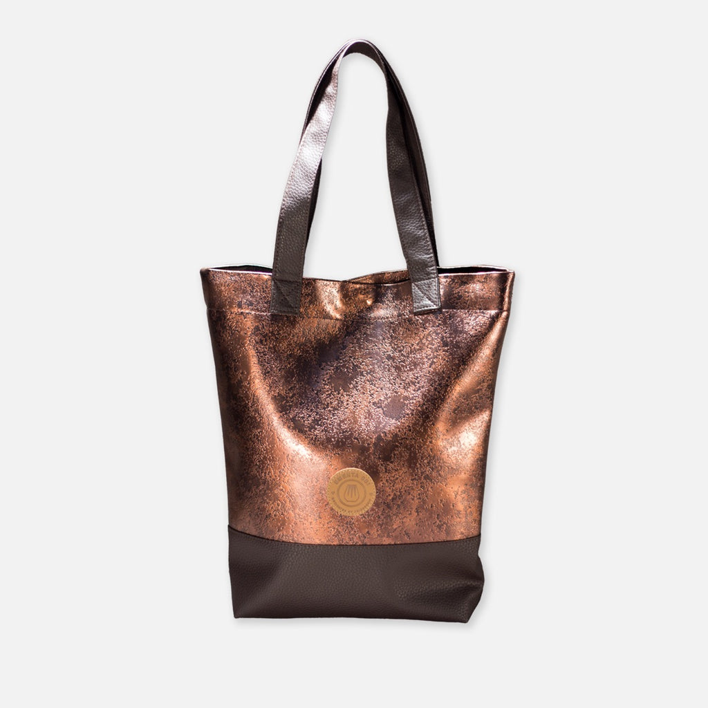Farol Raw Gold Bag