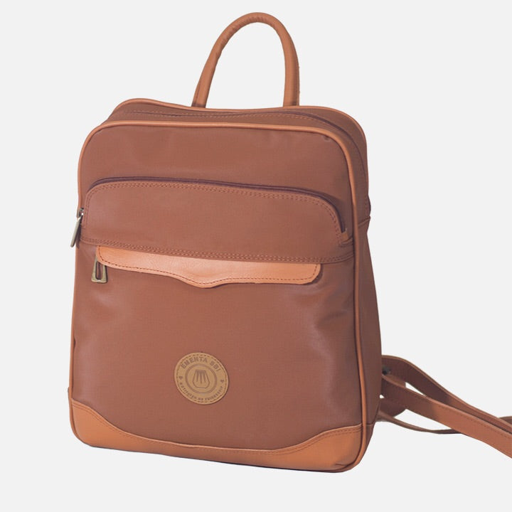 Field Bag Brown Canvas