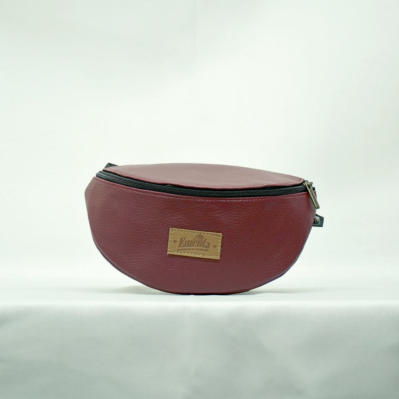 Frei Burgundy Fanny Pack