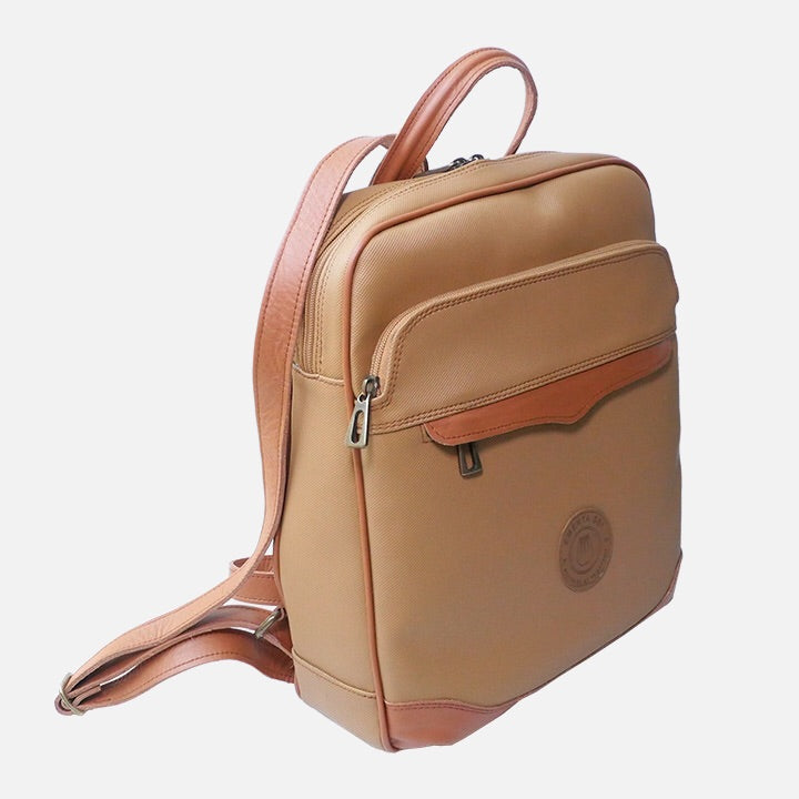 Field Bag Light Brown Canvas
