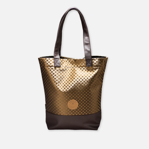Farol Square Gold Bag