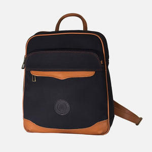 Field Bag Black Canvas