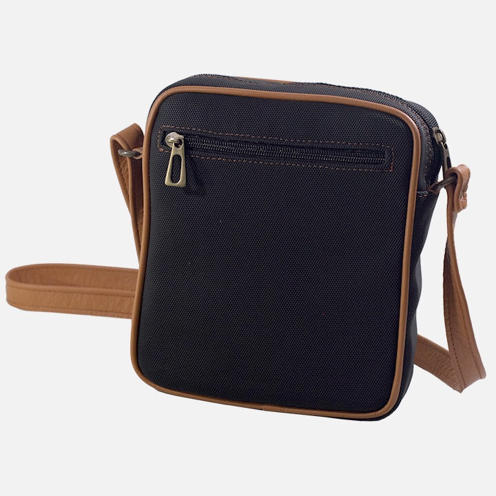 Square Bag Black Canvas