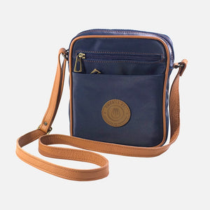 Square Bag Navy Canvas