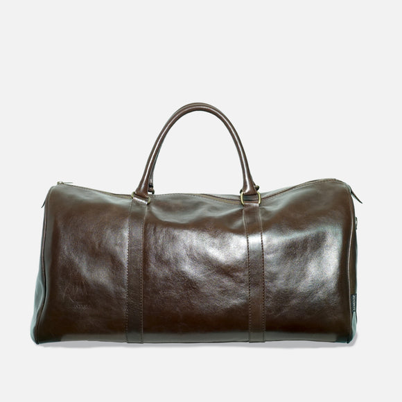 E-Duffel Leather Bag